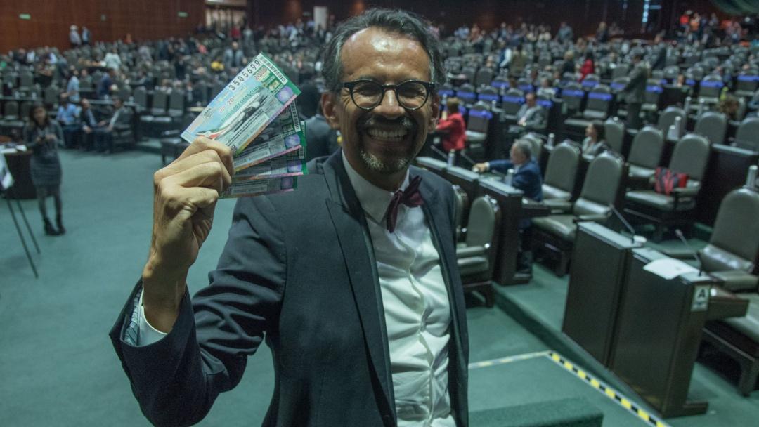 Aprueban diputados sortear avión presidencial y otros bienes de la Nación