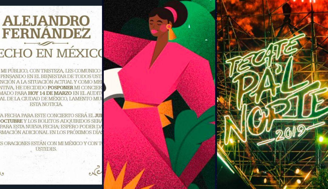 Estos son los eventos que se han cancelado en México por Covid-19