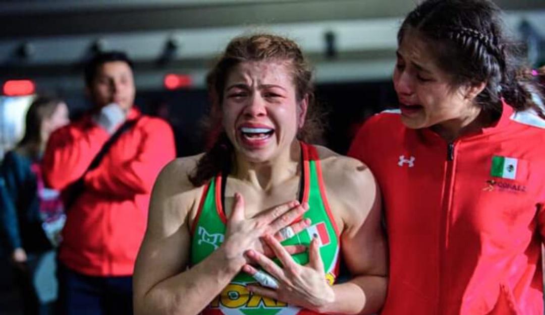 Jane Valencia, primera luchadora mexicana en pasar a los Juegos Olímpicos