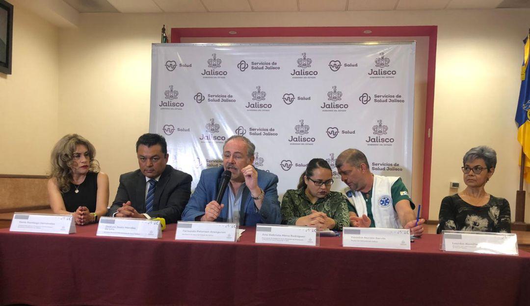 Sube a 5 los casos de COVID-19 en Jalisco