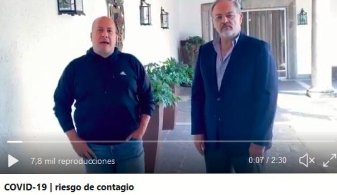 Contagiados de coronavirus que viajaron a EEUU están en Jalisco