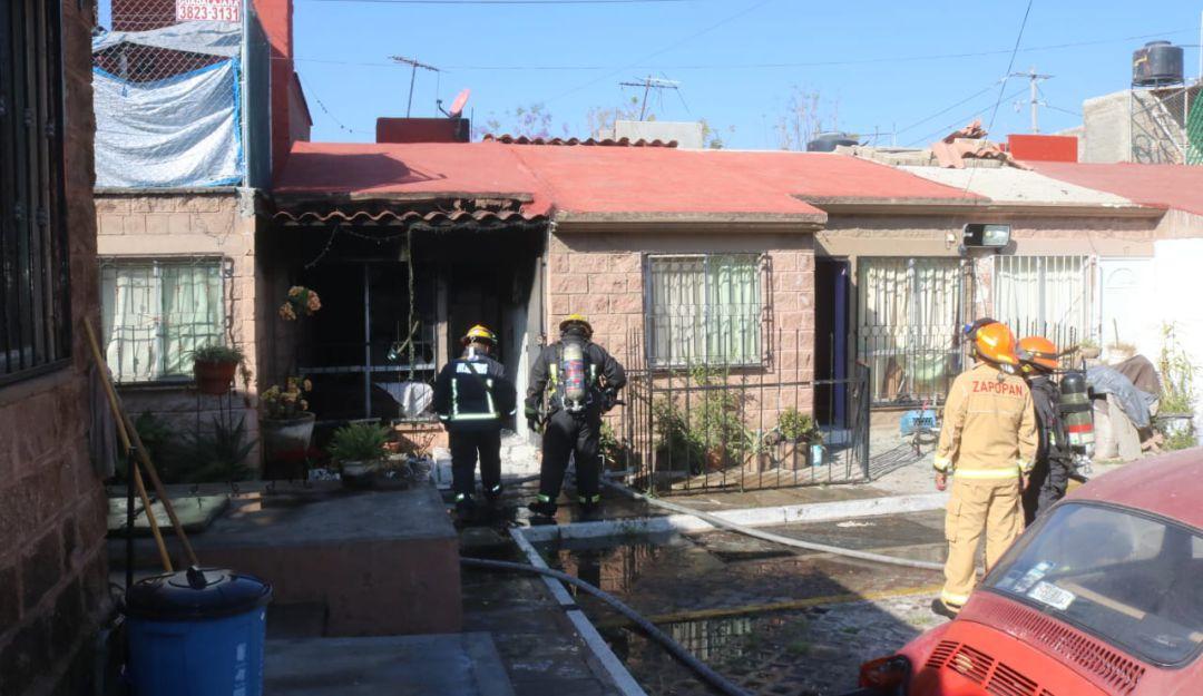 Explosión en una casa en Zapopan deja 5 lesionados