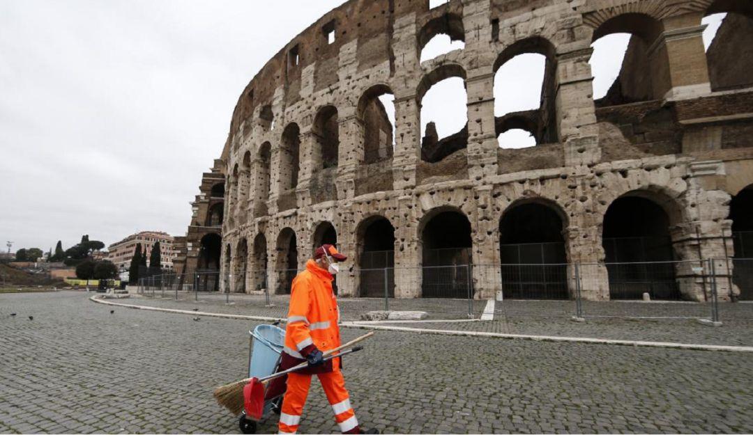 Italia supera a China con 3407 fallecidos por Covid-19