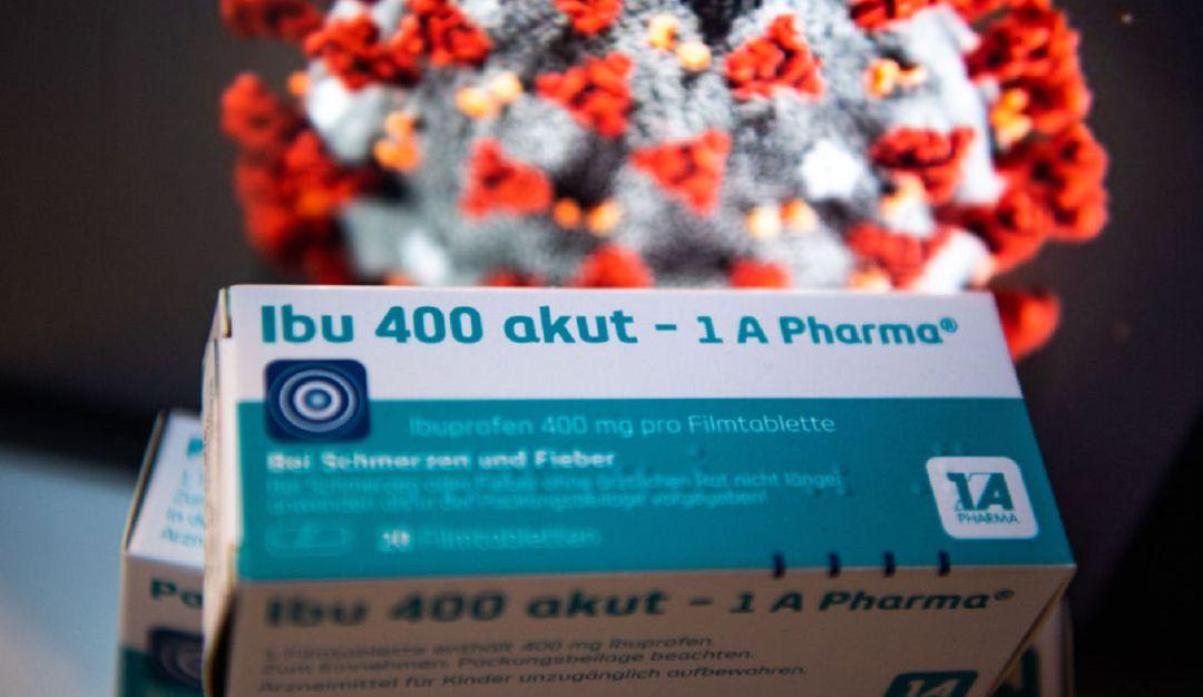 Sin ibuprofeno; autoridades de salud sugieren usar paracetamol