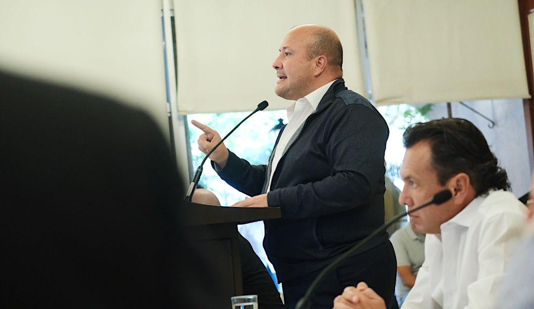 Enrique Alfaro señala que gobierno federal no ofrece apoyo a Jalisco