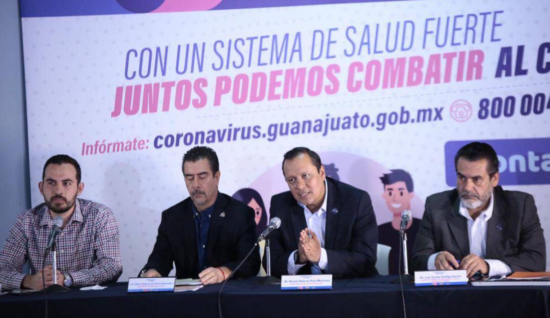 Guanajuato confirma cuatro casos de coronavirus