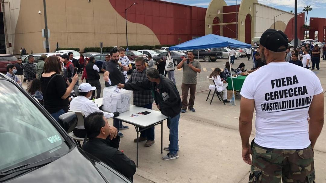 Lamenta Segob coacción en consulta pública de cervecera en Mexicali