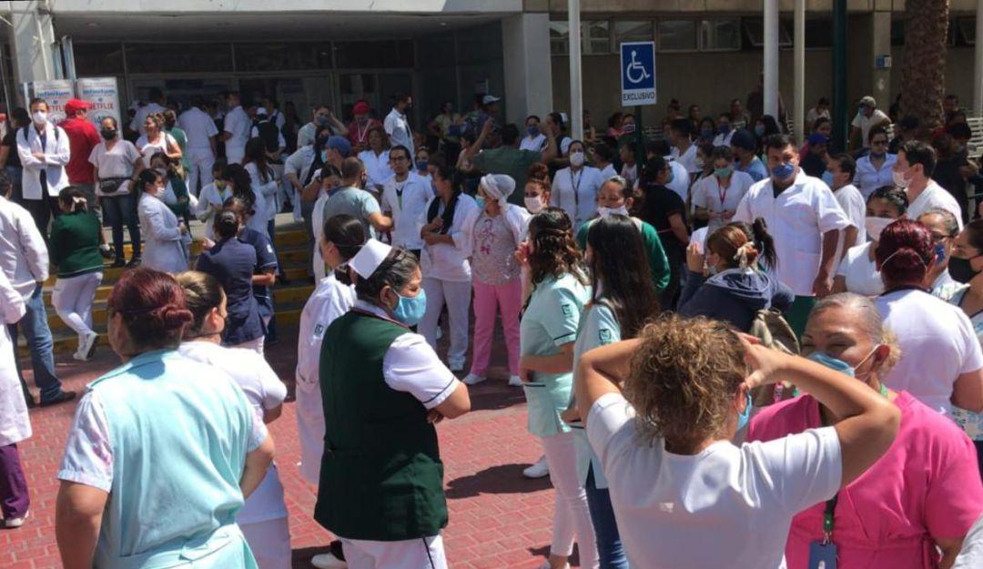Trabajadores del IMSS denuncian falta de insumos para atender contingencia