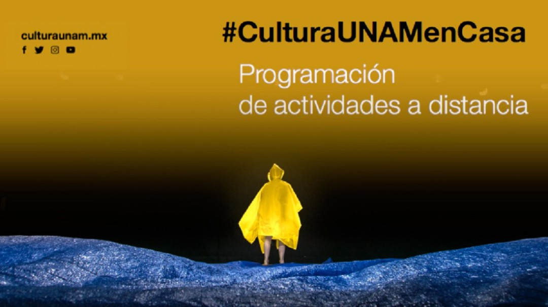 UNAM invita, actividades artísticas en casa