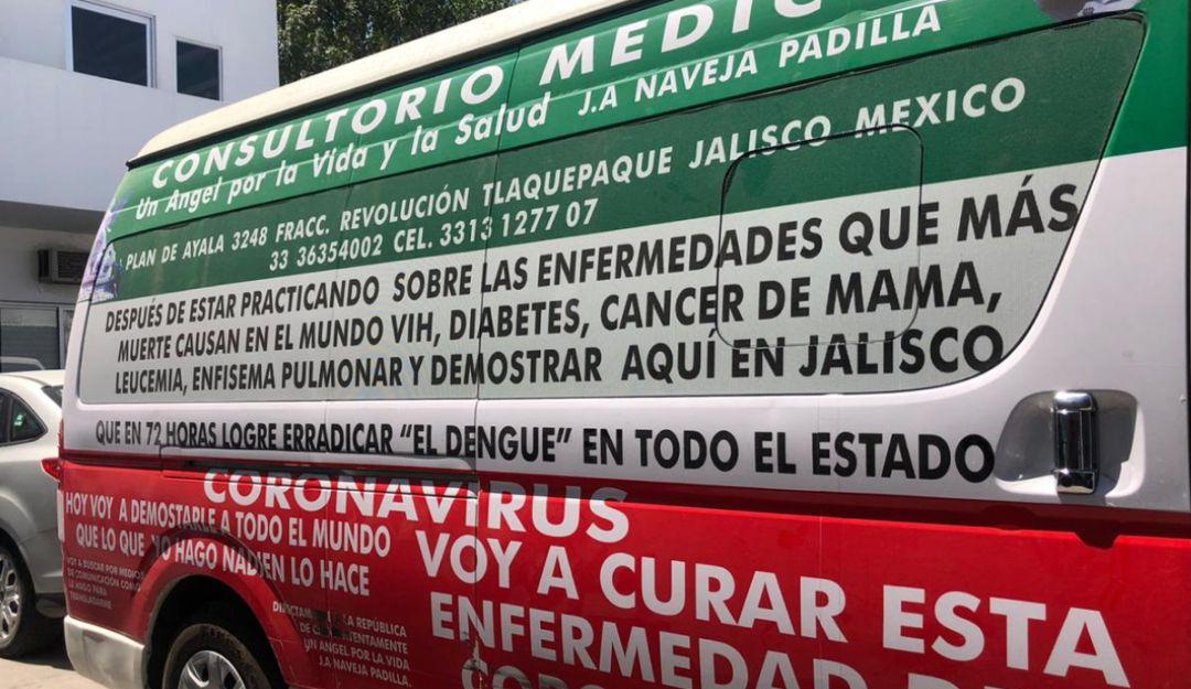 Detienen a presunto médico que anunciaba curar el Covid-19 en Tlaquepaque