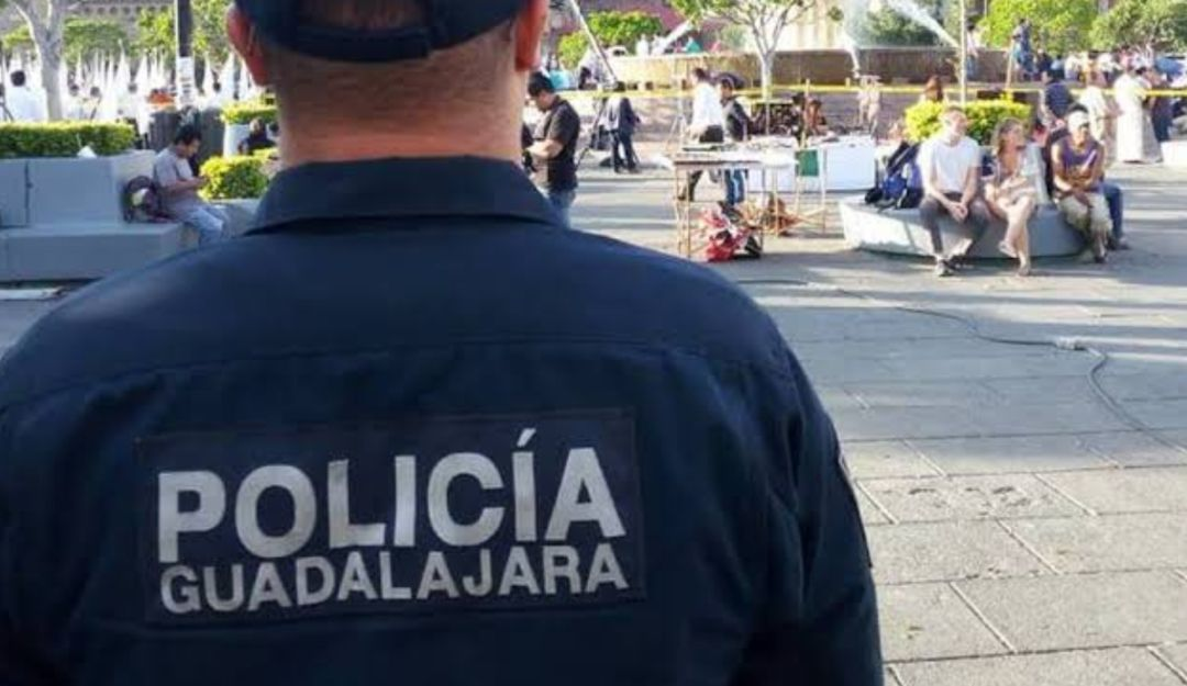 Policía tapatía se cuida del COVID19