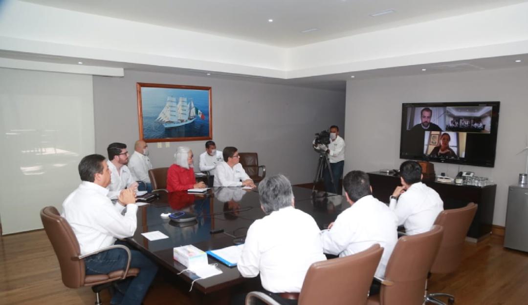 Gobierno de Tamaulipas dialoga con especialista italiana por COVID-19