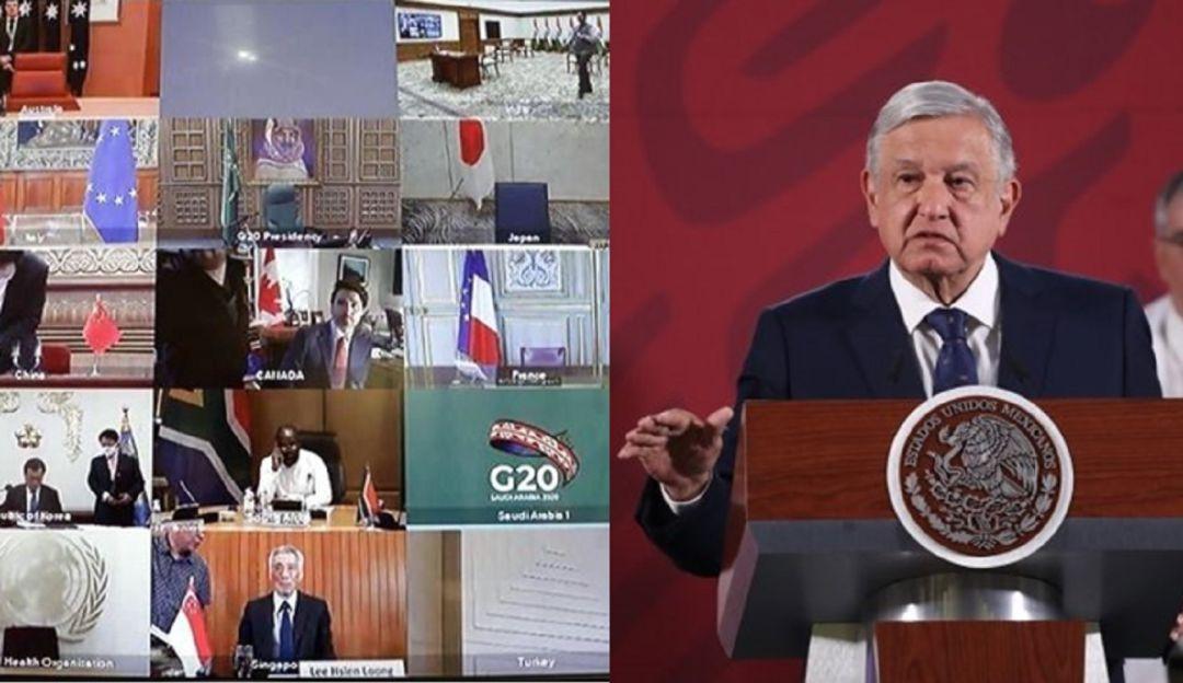 G20 realiza cumbre virtual por impacto de Covid-19