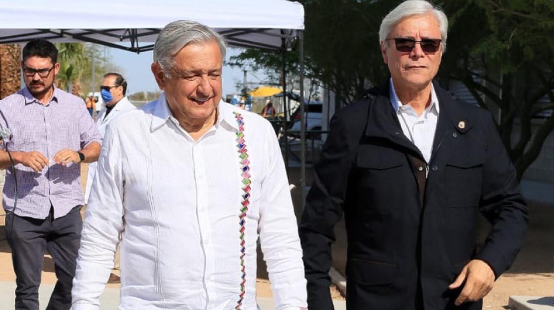 Refrenda el Presidente López Obrador su amistad con Jaime Bonilla