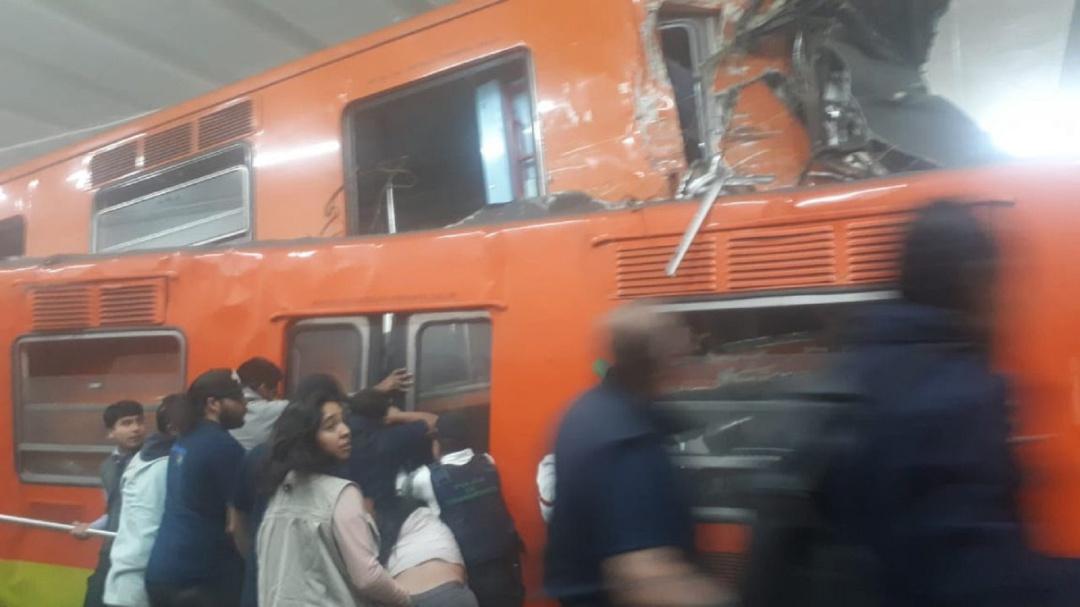 Error humano y no falta de mantenimiento en el accidente del Metro