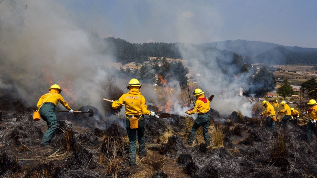 Incendios forestales continúan en gran parte del país
