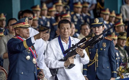 Rodrigo Duterte gobierna Filipinas desde 2016 con mano de hierro