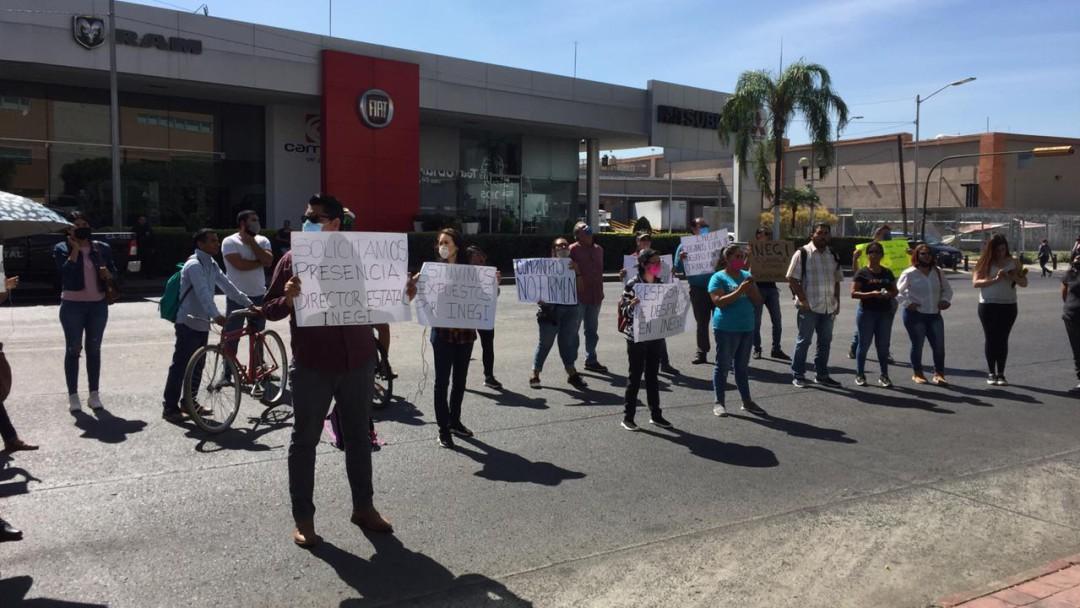 Obligan a encuestadores del INEGI a renunciar