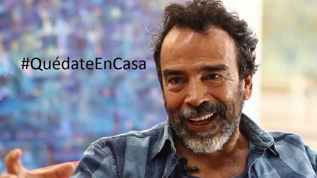 #QuédateEnCasa: Damián Alcázar