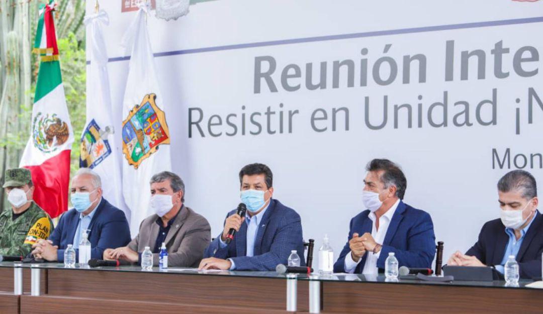 Tamaulipas, NL y Coahuila acuerdan acciones para proteger economía