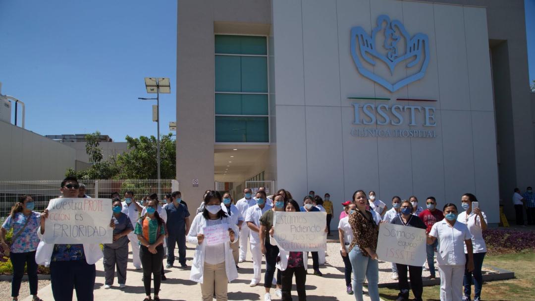 Coordina SSPC acciones para reforzar protección a personal médico ISSSTE