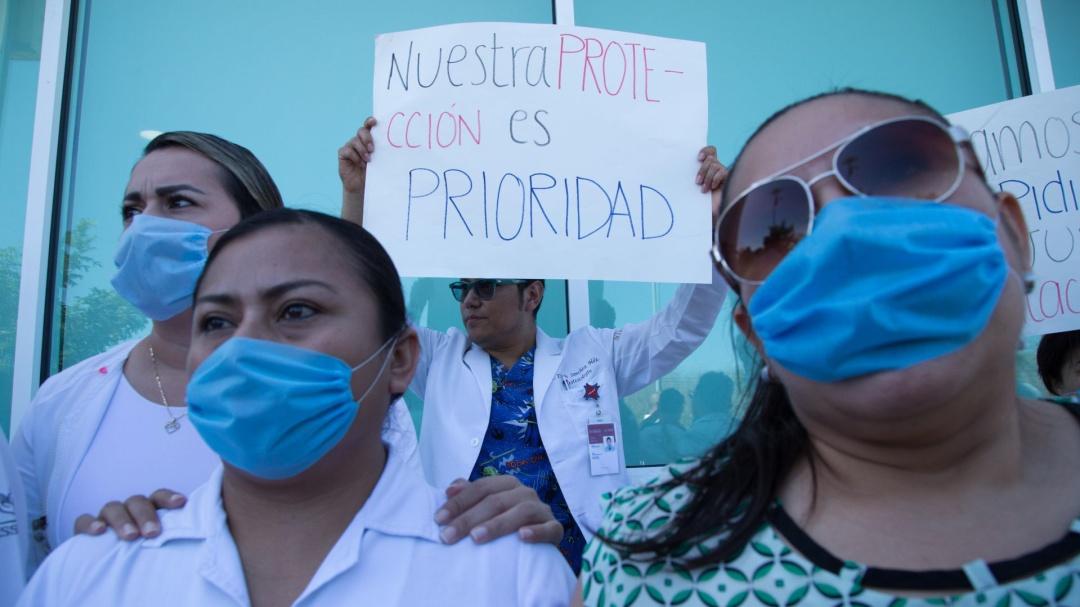 Proponen diputados PVEM elevar penas vs agresores de médicos y enfermeras