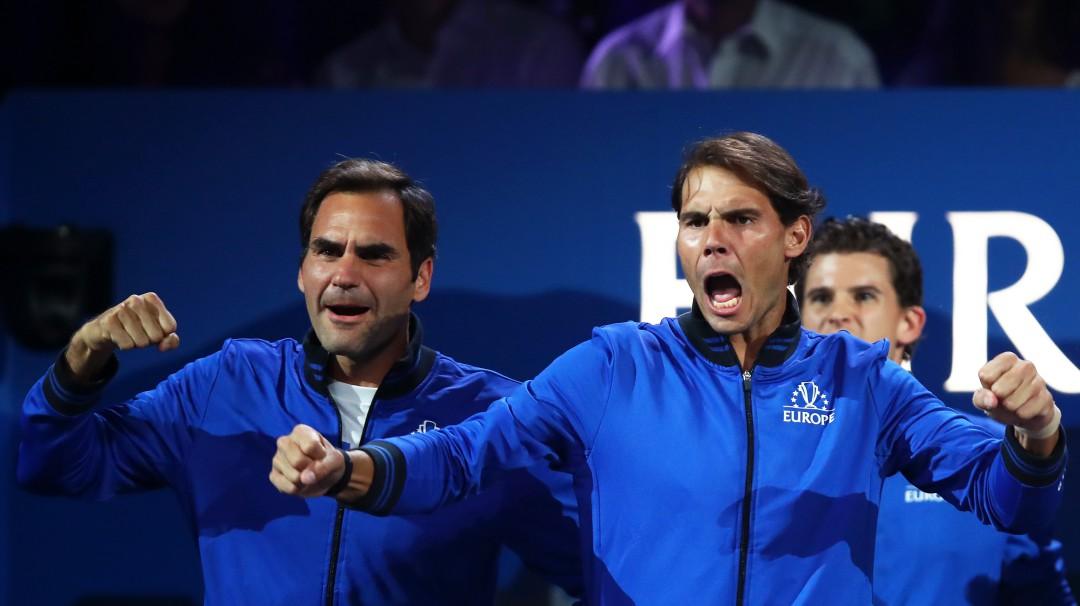 Así fue la reunión en Instagram entre Federer y Nadal