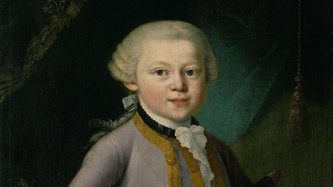 Mozart: un niño y la ópera