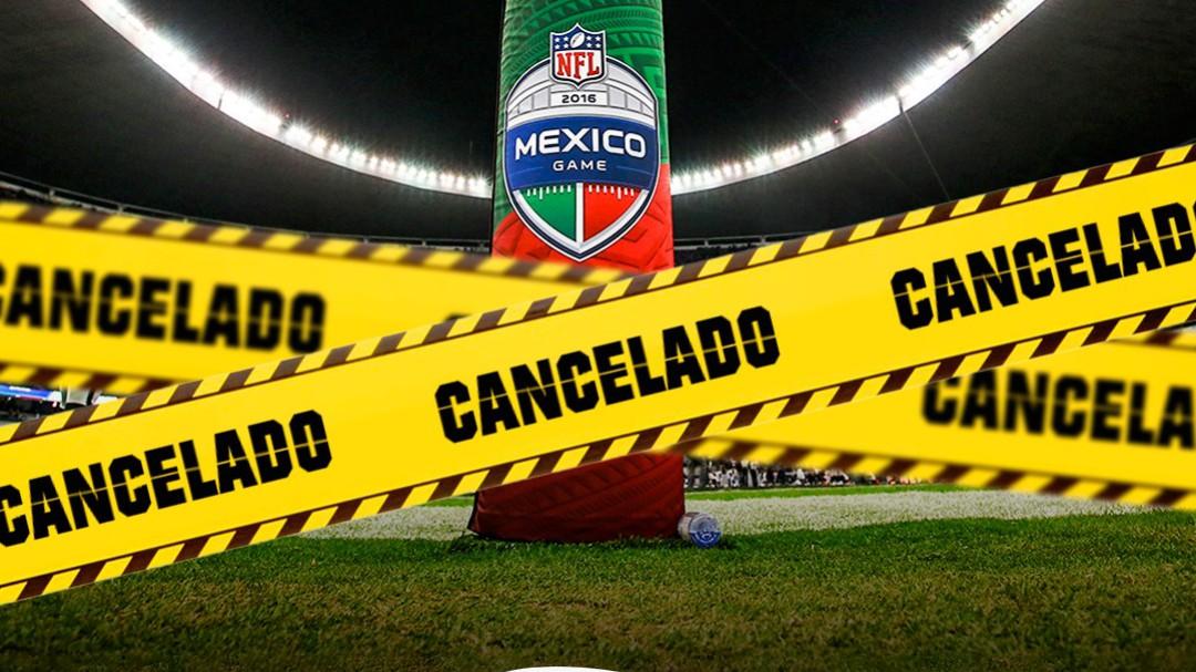 Se cancela el juego de la NFL en México por el Covid19