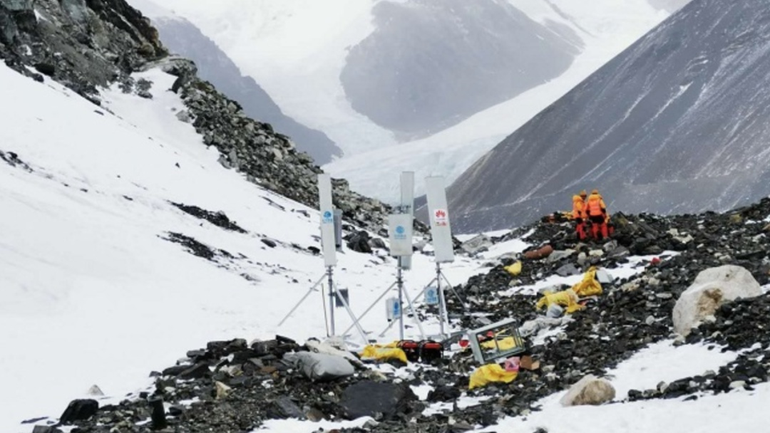 Conquistan Huawei y China Mobile el Everest