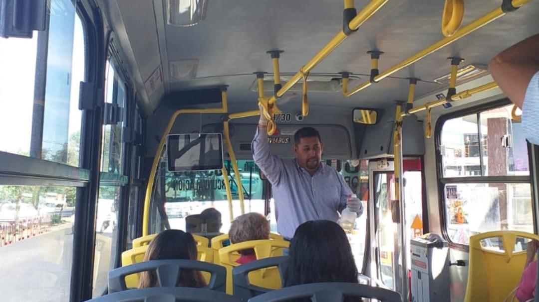 Sin operar 20% de las unidades del transporte público