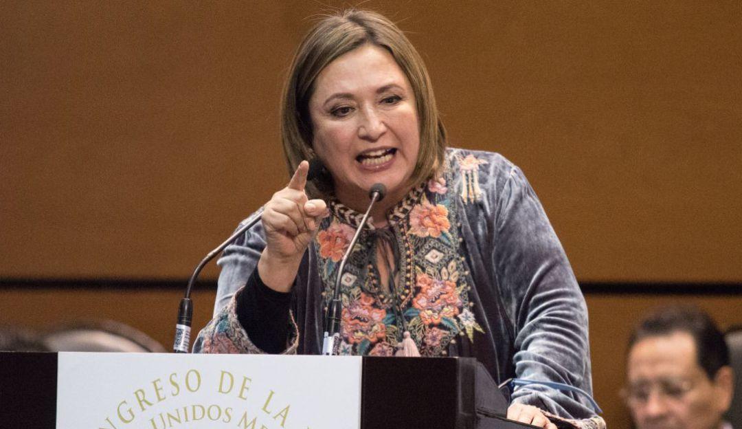 Xóchitl Gálvez presenta denuncia penal contra hijo de Bartlett