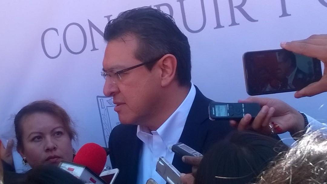 Pico en Tlaxcala tardará: Marco Mena