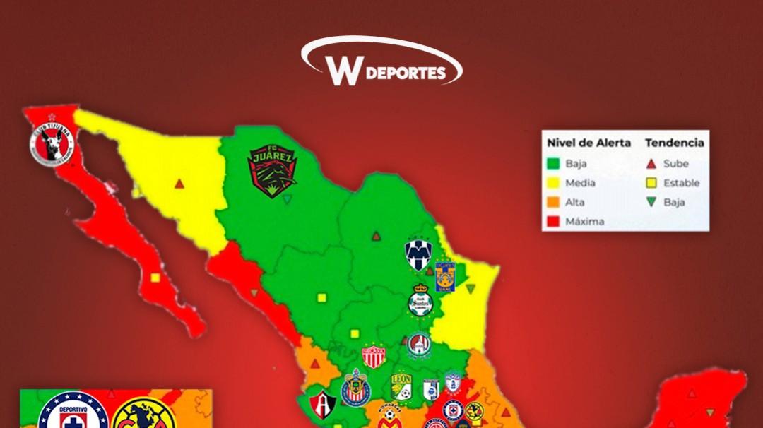 Equipos capitalinos en desventaja tras posible regreso de la Liga MX