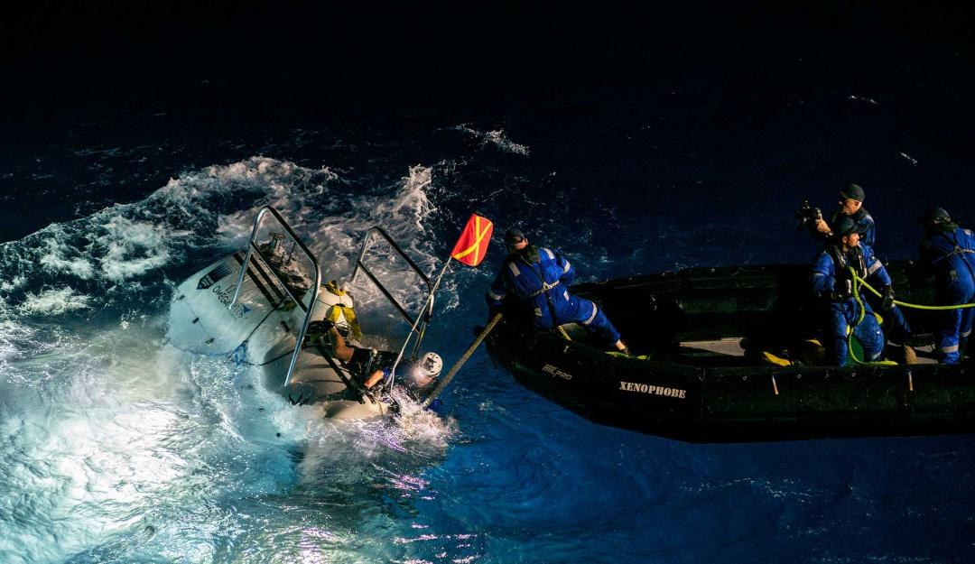 De manera histórica submarino ruso llega al punto más profundo de la Tierra