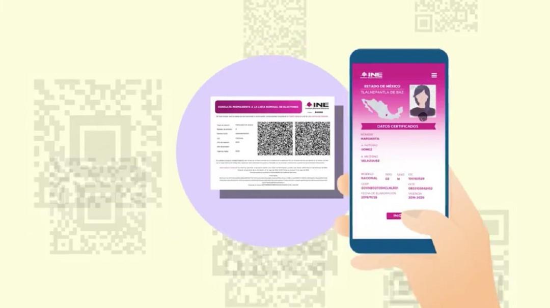 Conoce cómo tramitar tu constancia digital de identidad del INE