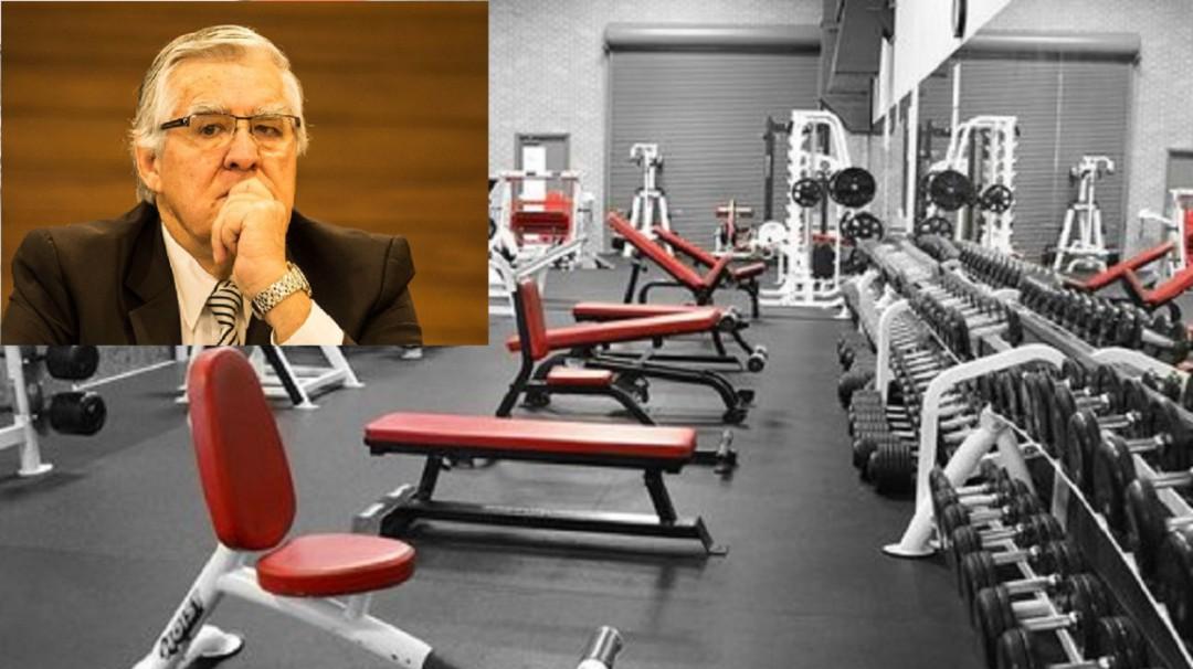 No hay una estadística de que en los gimnasios se contagien: Nelson Vargas