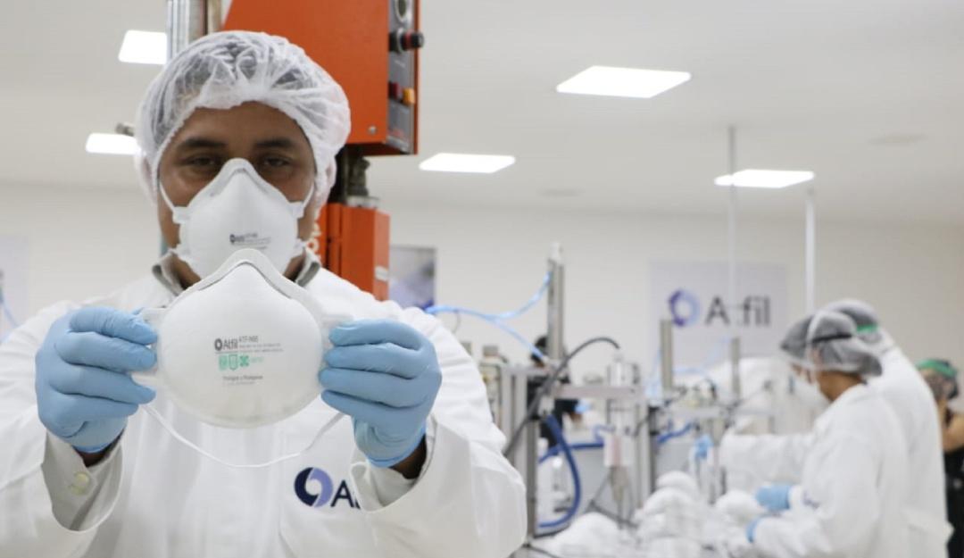 UNAM y CDMX inauguran fábrica de cubrebocas N95