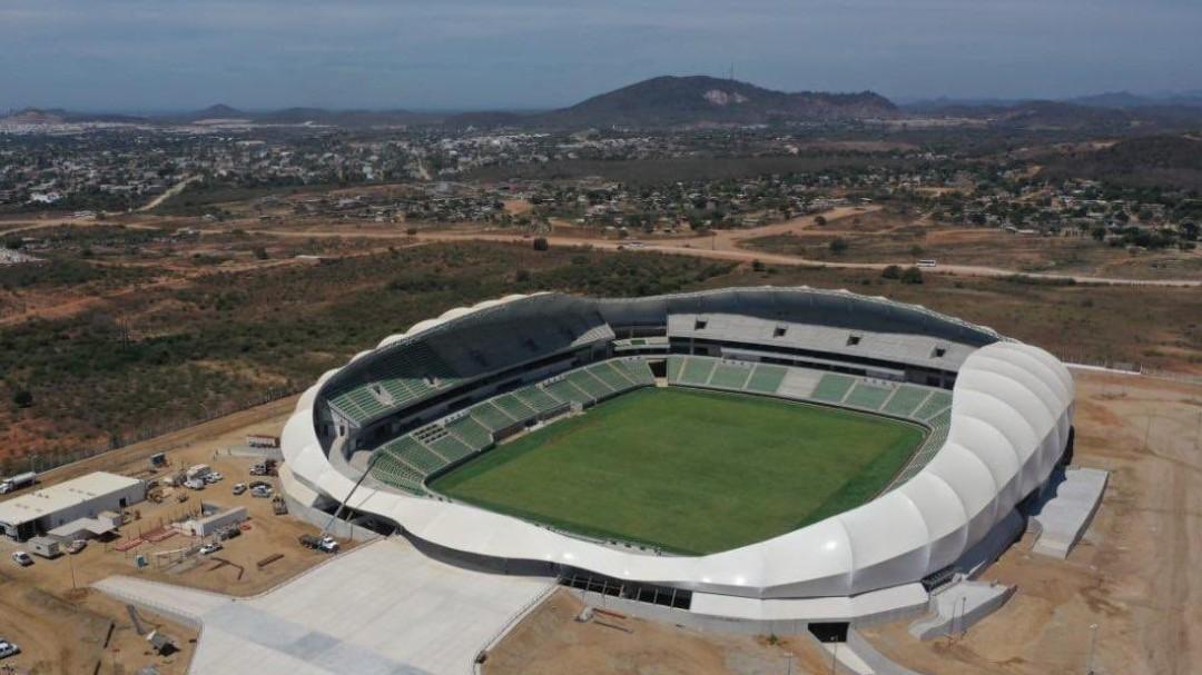 Así es el nuevo estadio de futbol en Mazatlán