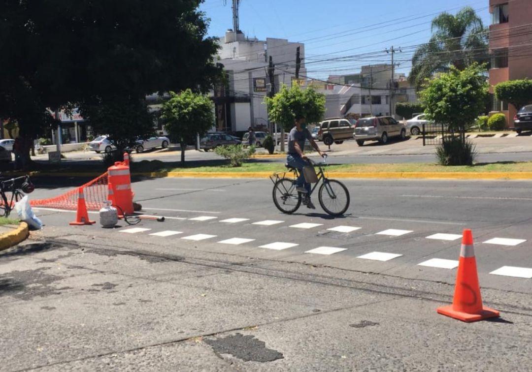 Ciudadanos aceptan ciclovías emergentes en Zapopan