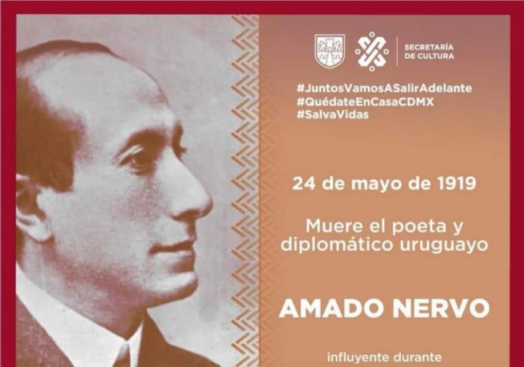 Se equivoca Cultura al recordar aniversario luctuoso de Amado Nervo