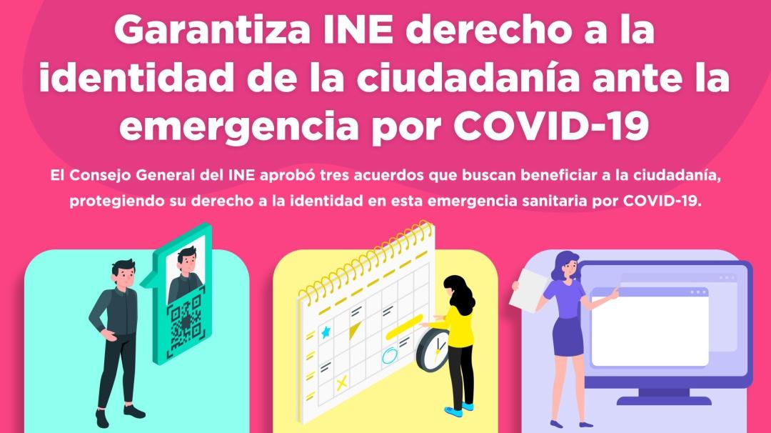 INE expedirá constancias digitales para identificación temporal