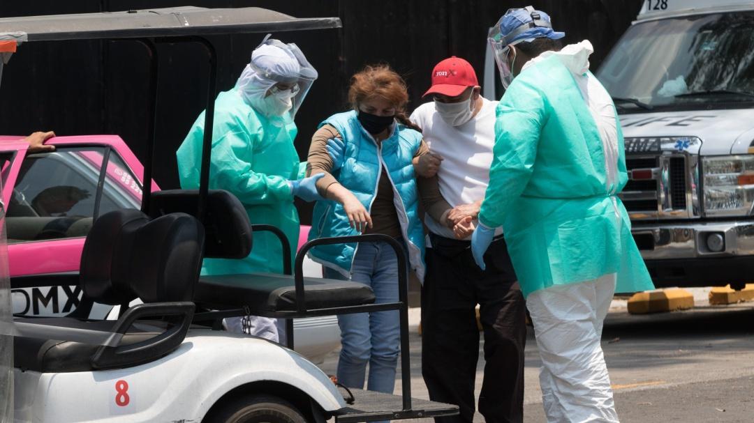 Suman 7 mil 394 muertes en México por COVID-19