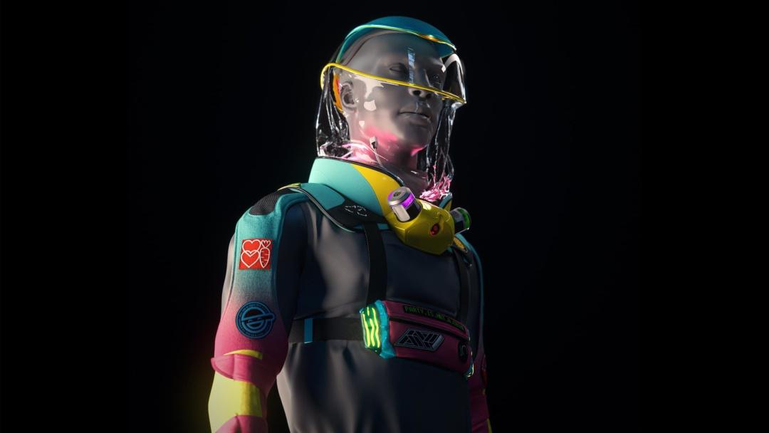Así sería el primer traje protector contra COVID-19 para ir de fiesta