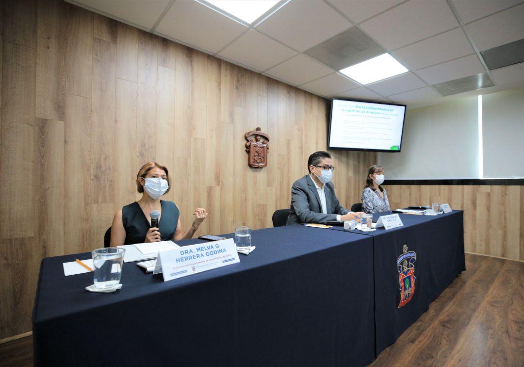 Instalan sala de situación en atención al dengue