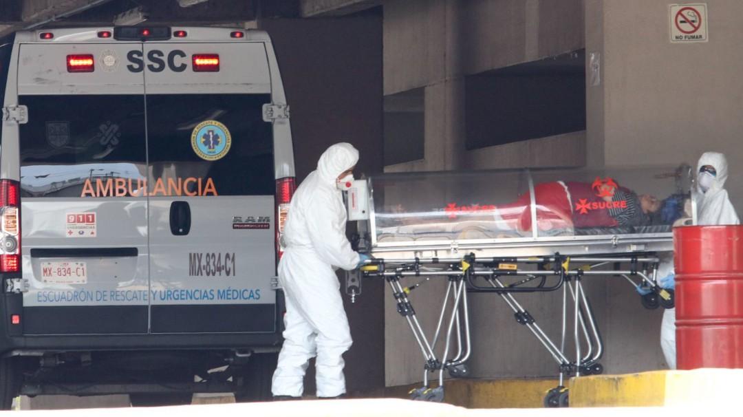 México supera la barrera de los 8 mil muertos por COVID-19
