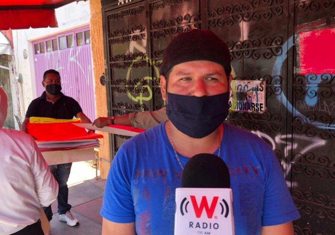 Artesanos y comerciantes de Tonalá se manifiestan