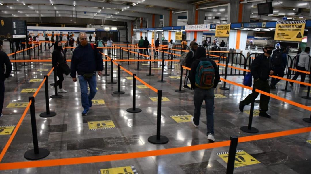 Metro de la CDMX lanza sus medidas para la nueva normalidad por COVID-19