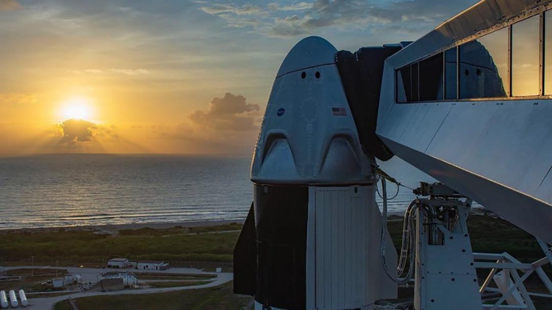 Sigue aquí el primer viaje espacial tripulado de EU en casi una década