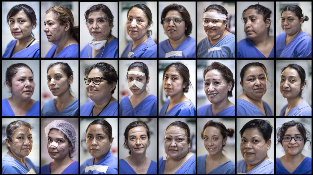 Los rostros de las mujeres que están al frente del combate ante el COVID-19